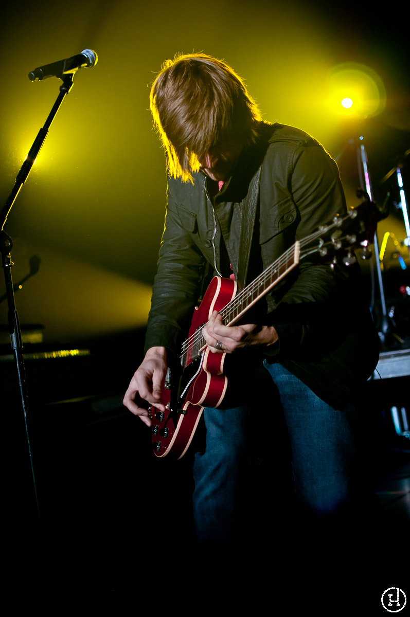 The Afters perform live on the Hungry For Love Tour on November 6, 2010