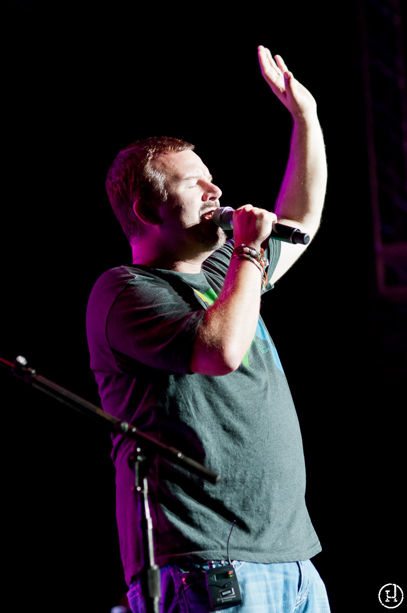 Casting Crowns perform at the Iowa State Fair in Des Moines, IA on August 11, 2011 (Jeff Harris)