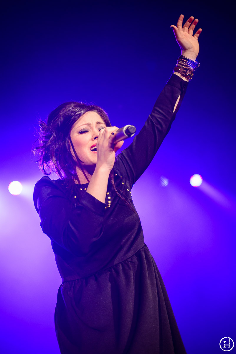 Kari Jobe performs at The Huntington Center in Toledo, OH on Feburary 28, 2013 (Jeff Harris)