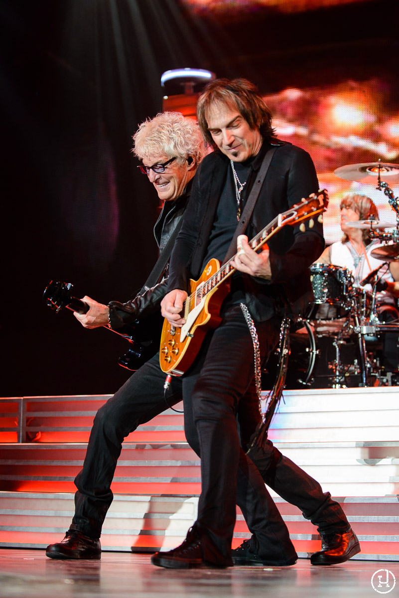 REO Speedwagon perform at The Huntington Center in Toledo, OH on April 21, 2013 (Jeff Harris)