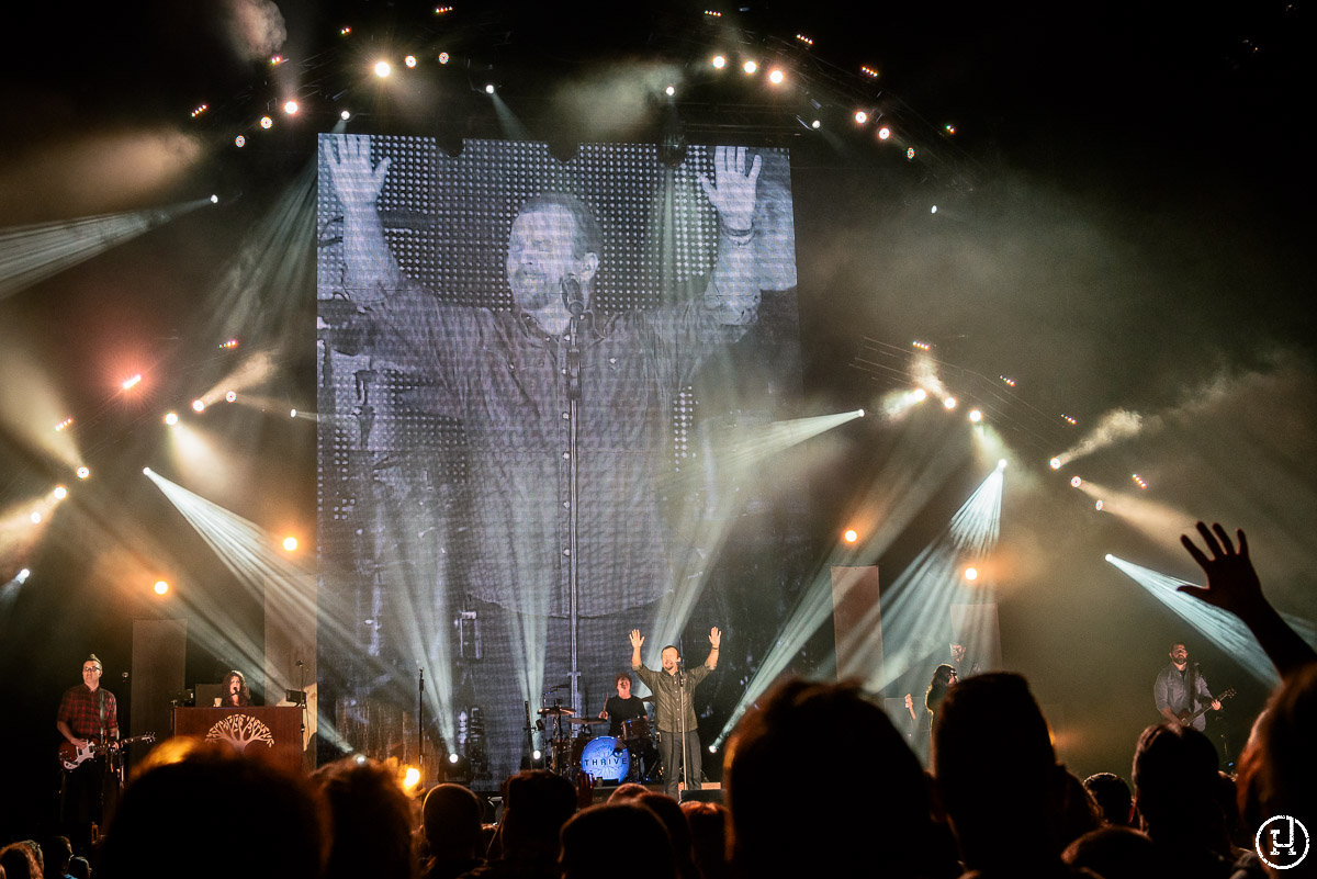 Casting Crowns perform live at The Huntington Center in Toledo, OH on October 9, 2014 (Jeff Harris)